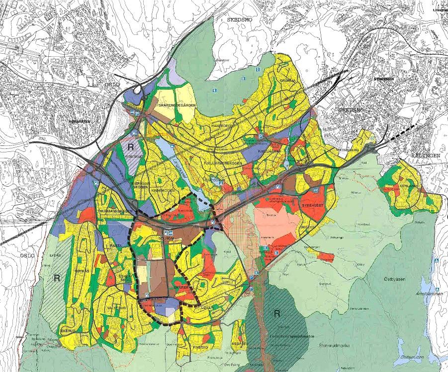 kommunegrenser kart Informasjon om kommunen   Lørenskog kommune kommunegrenser kart